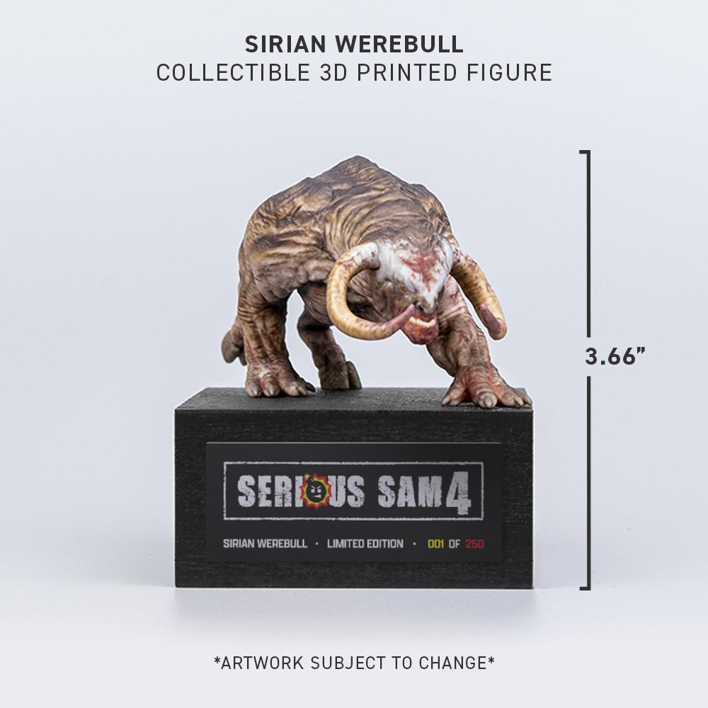 SERIOUS SAM 4 — SIRIAN WEREBULL COLLECTIBLE FIGURE