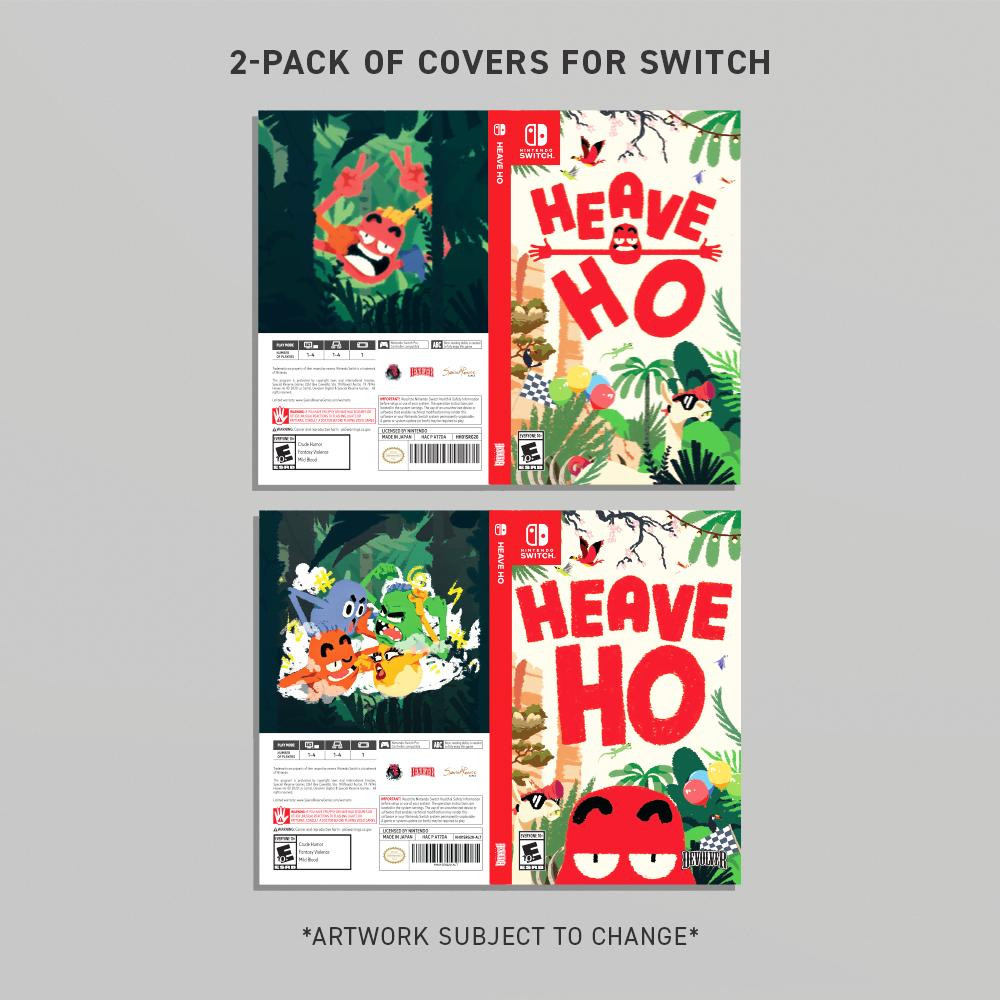 HEAVE HO 2-PACK SWITCH JACKET ARTWORK VARIANTS