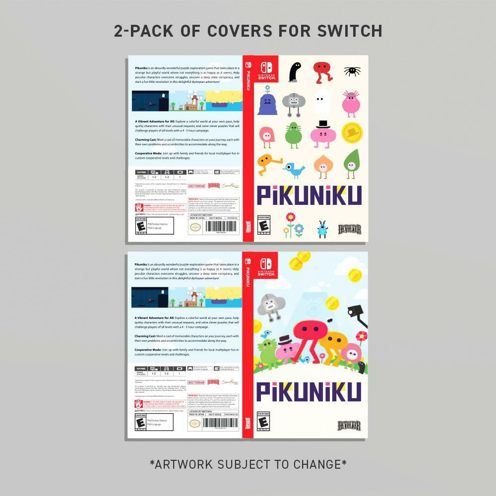 PIKUNIKU 2-PACK SWITCH JACKET ARTWORK VARIANTS