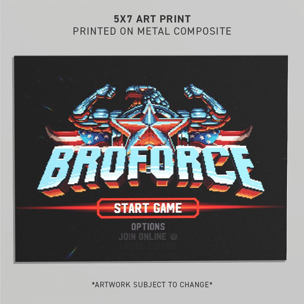 BROFORCE ART PRINT C
