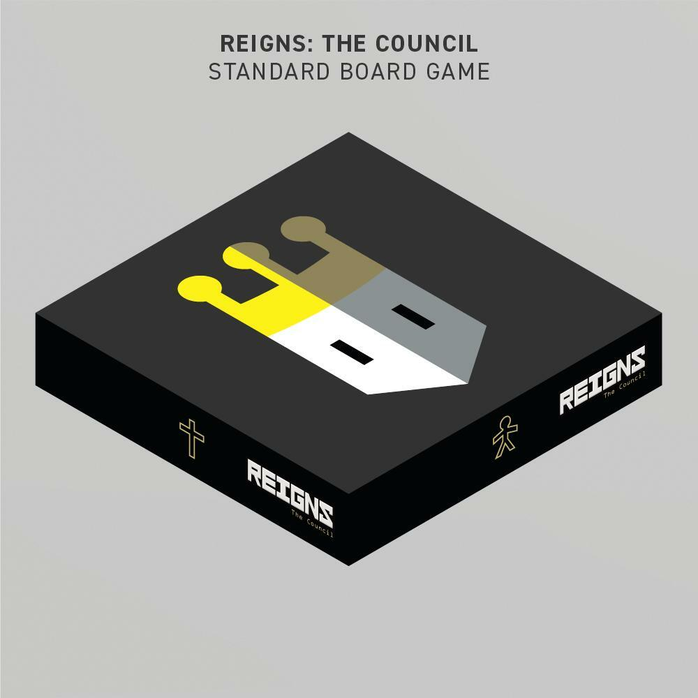 REIGNS: THE COUNCIL [STANDARD BOARD GAME]