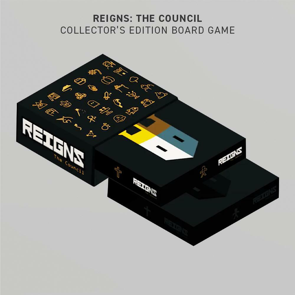 REIGNS: THE COUNCIL [COLLECTOR'S EDITION BOARD GAME]