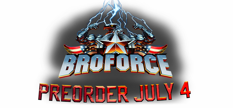 Broforce coming July 4th
