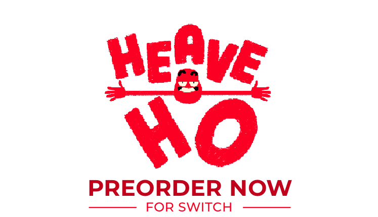 Heave Ho on sale now for switch. Top image of asset
