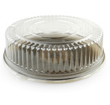 This great serving lid is made from heavy-weight plastic. Perfect for weddings, and other special occasions. Made from recyclable plastic and BPA free. Sold in wholesale bulk and retail
