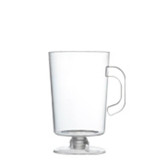 Hard disposable plastic mini espresso mugs that are great for hot or cold. Beautiful for weddings and other special occasions. Sold in wholesale bulk and retail.