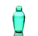 Quenchers 7 oz. Green Plastic Cocktail Shakers