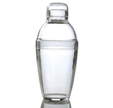 Quenchers 10 oz. Clear Plastic Cocktail Shakers