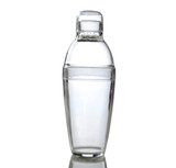 Quenchers 14 oz. Clear Plastic Cocktail Shakers