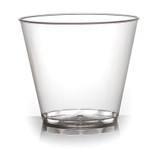 Savvi Serve 9 oz Old Fashioned Plastic Tumblers - Case of 500