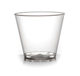 Savvi Serve 5 oz Old Fashioned Plastic Tumblers - Case of 500