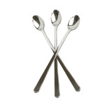 These mini polished silver cocktail spoons are great for weddings and parties. High quality and strong - perfect for appetizers or dessert. Sold in wholesale bulk and retail