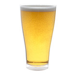 Quenchers 14 oz. Pilsner Clear Plastic Glasses - Case of 60