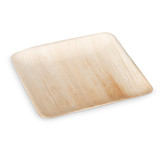 "Ecotrends 10"" Square Palm Leaf Plates - Case of 100"