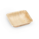 "Ecotrends 3"" Square Palm Leaf Mini Bowls - Case of 200"