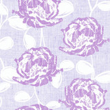 Lilac Flowers Linen-Like Dinner Napkins - Pkg of 50