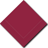 Lillian Burgundy Lunch Napkins - Pkg of 100