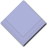 Lillian Periwinkle Lunch Napkins - Pkg of 100