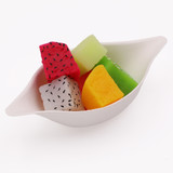 Ecotrends Bagasse Mini Tasting Lemon Shaped Dishes -Package of 50