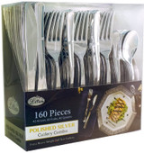 Lillian Polished Silver Cutlery Combo Box - 80 Forks, 40 Spoons, 40 Knives