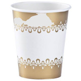 Precious Gold Paper Cups- Pkg of 24