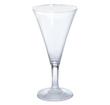 Tiny Temptations 2 oz Champagne Flute Clear- Pkg of 8