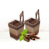 Decor Mini Square 4 oz Cups - Pkg of 10