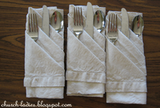 How To: Fold a Napkin into 3 Pockets   Partytrends.ca