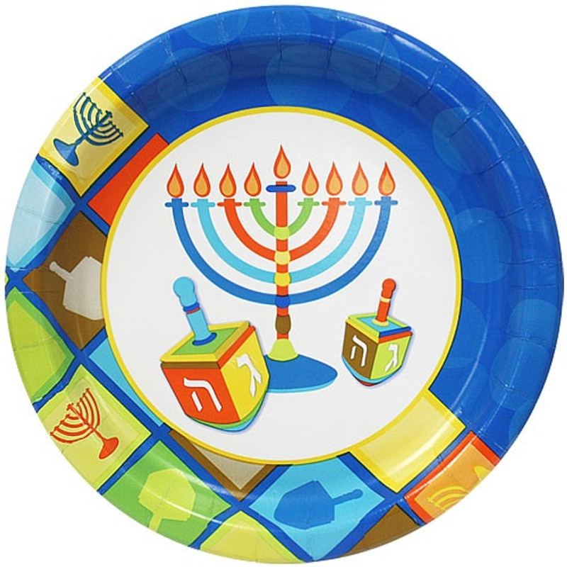 Beautiful paper plates great for holiday parties and other special events. Sold in wholesale bulk and retail.