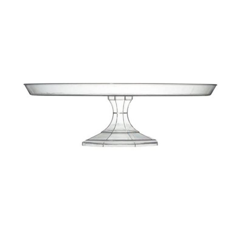 This great cake stand is made from heavy-weight plastic. Perfect for weddings, and other special occasions. Made from recyclable plastic and BPA free. Sold in wholesale bulk and retail