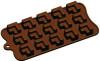 Cube, Partitioned - 15 pc per mold - Silicone Mold - Fat Daddio's
