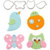 Cutie Cupcake- Flutter Friends  (Set of 4)
