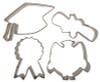 Cutie Cupcake- Graduation Set  (Set of 4)