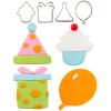 Cutie Cupcake- Birthday Set  (Set of 4)