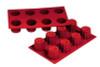 Bordelais - 3.1 oz - 8 pc per tray - Silicone - Fat Daddio's