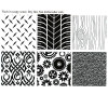 Texture Mat - Manly Set - (Set of 6)--OUT OF STOCK