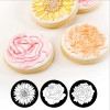 Cupcake/Cookie Texture Tops - Floral (Set of 3)