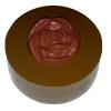 Rose Round Cookie Chocolate Plastic Mold (Oreo)