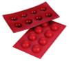 Hemisphere - 1 oz - 8 pc per tray - Silicone - Fat Daddio's