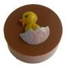 Chick - Round Cookie Chocolate Plastic Mold (Oreo)