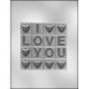 I Love You Bar - Plastic Chocolate Mold