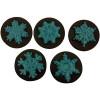 Snowflakes Cookie Chocolate Plastic Mold (Oreo)