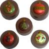 Ornaments Cookie Chocolate Plastic Mold (Oreo)