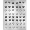 Mini Heart Assorted - Plastic Chocolate Mold