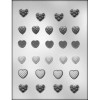 Small Heart Assorted - Plastic Chocolate Mold