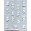 Frogs Assortment - Hard Candy/Chocolate Plastic Mold