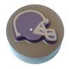 Football Helmet Cookie Chocolate Plastic Mold (Oreo)