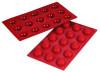 Hemisphere - 0.68 oz - 15 pc per tray - Silicone - Fat Daddio's
