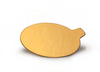 Pastry Board - Oval Mono-Portion Laminated