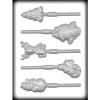 Christmas Assorted - Plastic Lollipop Mold